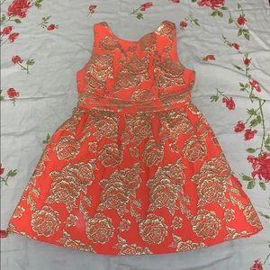 Neon Printed Dress